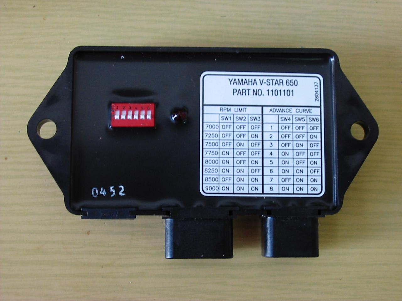 Schema Elettrico Yamaha Dragstar 650 : Faster dynatek dyna centralina parti speciali
